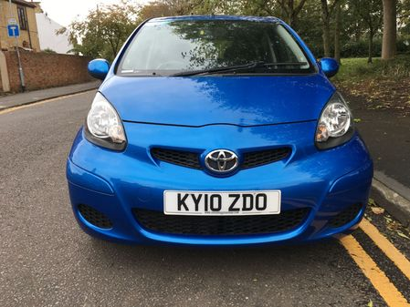 TOYOTA AYGO VVT-I BLUE MM